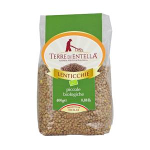 Lenticchie Bio Siciliane gr.400_Terre di Entella