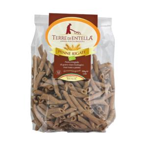 Penne rigate integrali di grano duro siciliano gr.500_Terre di Entella