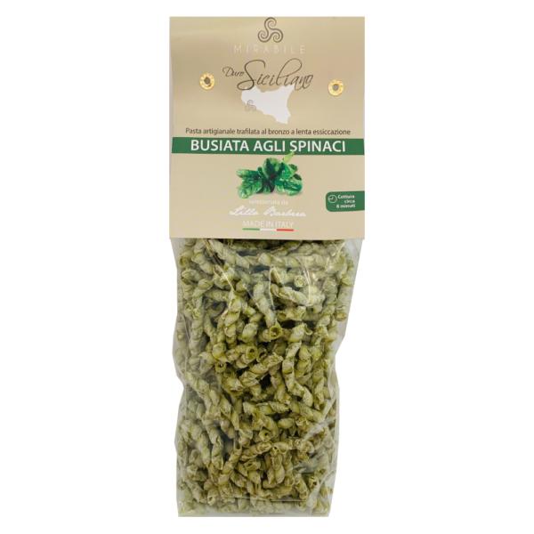 Busiate agli spinaci