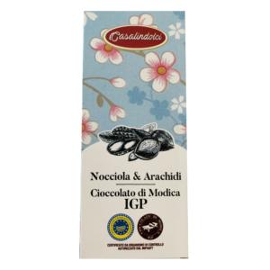 Cioccolato di Modica Nocciole & Arachidi IGP_Casalindolci