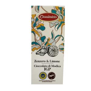 Cioccolato di Modica Limone e Zenzero_Casalindolci