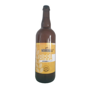 Birra Golden Ale artigianale NEVIERA cl.75_Forneria Messina