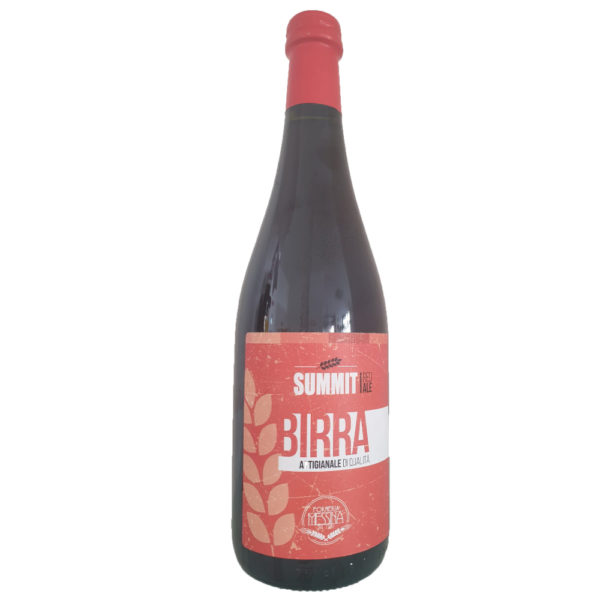 Birra Summit Red Ale cl.75_Forneria Messina